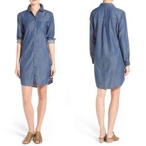 Eileen Fisher Chambray Shirtdress